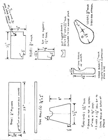 woodworking plans gun vise